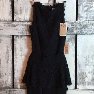 Nue by Shani Black Lace Dress sz 8